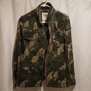 Abercrombie and Fitch Utlity Camo Jacket